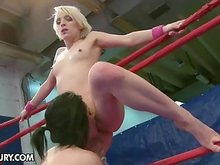 Nude Engagement Club Presents: Paige Fox vs Lucy Scare