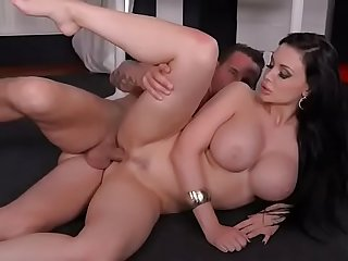Bluff Fulfillment: Busty Coworker's Tits Fucked Constant