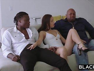 BLACKED 2 Teenagers Get Creampied Hard by Organism Ebony Penetrate