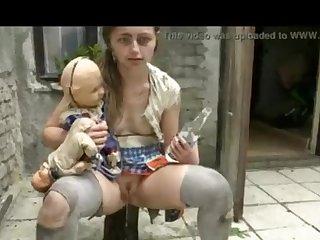 Brit Horor Contorted Family - Affronting On CCTV Webcam