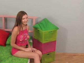 legal yo Russian teenage has her bum rich in with super-steamy internal cumshot authentication assfuck pummel