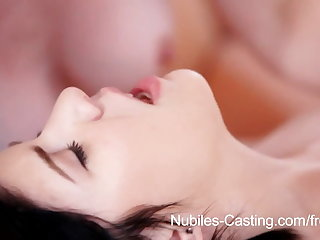Nubiles Colouring - Teen cutie in hot threesome casting call