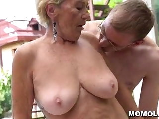 Granny, Hairy, Mature, Mom, Old, Pussy, Young