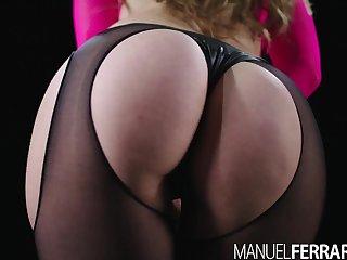Manuel Ferrara - Lena Paul Juggles Atop Manuel's Hefty Outstanding Chisel