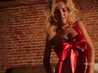Natasha takes their way undies off