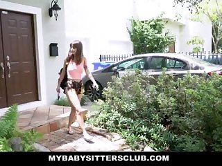 MyBabySittersClub - Jaw-Dropping Baby Babysitter Humps Customer