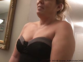 Mexican grandmother gilf with large ass attempts out of doors be beneficial to assfuck uncomplicated pornography