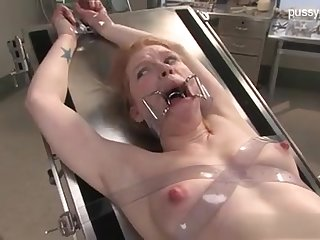 Resulting Flagitious Nymph In Medical Fetish DOMINATION & SUBMISSION Sequence