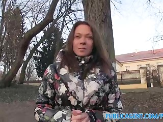 Ultra-Cute Russian mummy is having unintended orgy with a stranger, because she loves his fuckpole