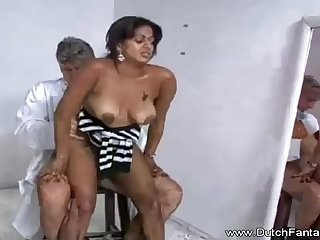 Indian mummy is procurement humped approach the camera and doting every single 2nd of it