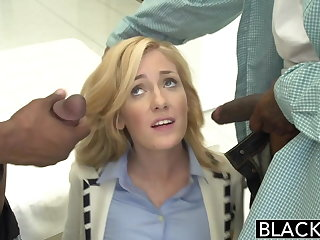 BLACKED 2 Big Black Dicks for Rich Piece of baggage Emily Kae