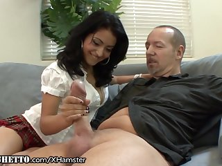 Hairy Latina Schoolgirl Wants Elderly Teachers Dick