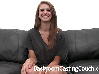 Busty Teen Fucked Unending and Swallows Cum