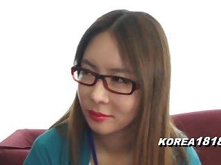 KOREA1818.COM - Korean Lady in Pageantry Glasses