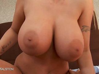 Sexy Blonde MILF Up Huge Tits Gets Fucked!