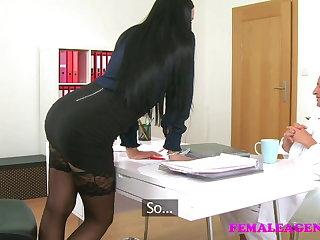 FemaleAgent vs Fake Hospital Dirty doctor fucks sexy agent