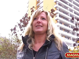 MAGMA Overlay Sexy Milf picked up on the street