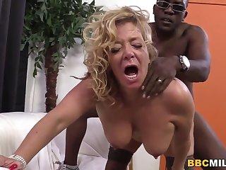 Busty Cougar Karen Summer Tastes Nefarious Cock