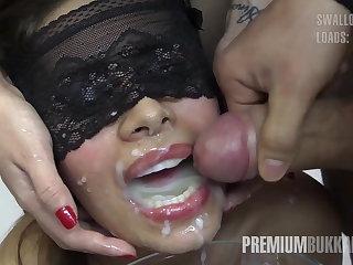 Bukkake, Cum, Cum in mouth, Cumshot, Facial, Swallow